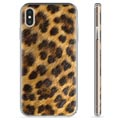 Custodia TPU per iPhone X / iPhone XS - Leopardo