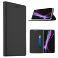 Huawei P20 Slim Flip Case with Card Slot - Black