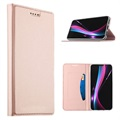 Huawei P20 Slim Flip Case with Card Slot - Rose Gold