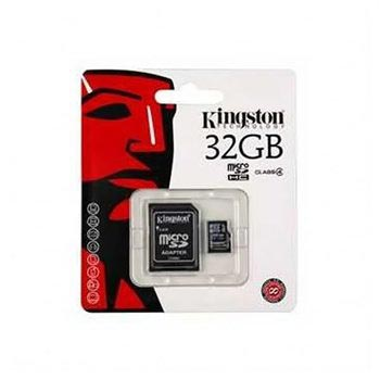 Scheda di Memoria Kingston Micro SDHC (TransFlash) SDC4/32GB - 32GB