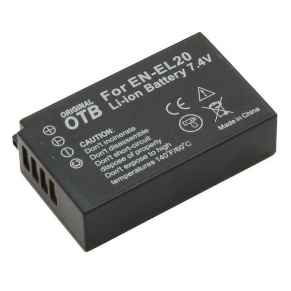 EN-EL20 Batteria Alta Qualità per Nikon 1 S1