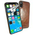 Custodia in Pelle Magnetica Alston Craig per iPhone X / iPhone XS