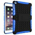 Custodia Hybrid Anti-Slip per iPad Mini 4 - Nero / Blu