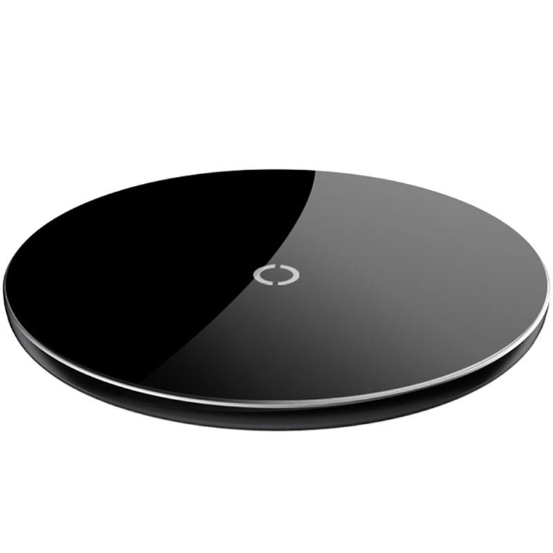 Caricabatterie Wireless Ultra-sottile Qi Baseus Simple - 10W - Nero