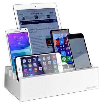 Docking Station Universale con 6 Porte Charge Pit
