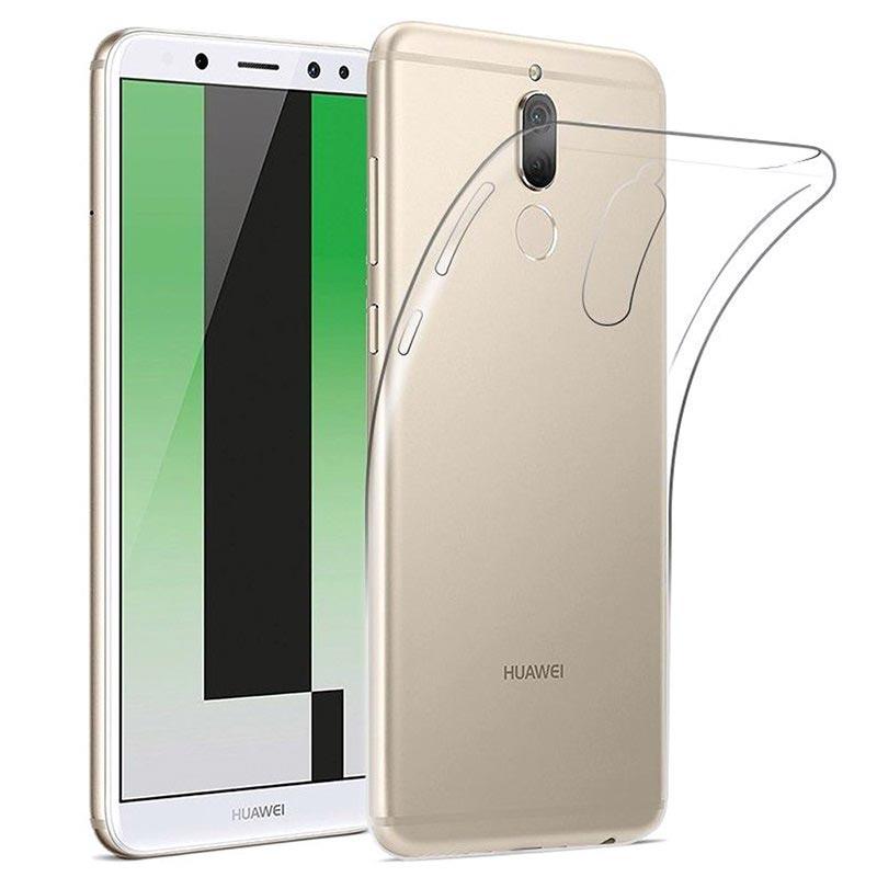 Custodia Anti scivolo TPU per Huawei Mate 10 Lite - Chiara