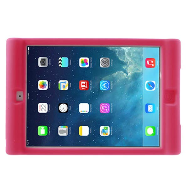 Custodia in Silicone Easy Hold per iPad Air - Rosa Neon
