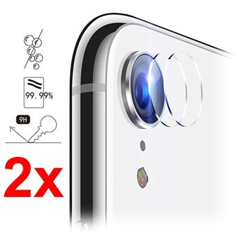 iPhone XR Hat Prince Camera Lens Tempered Glass Protector - 2 Pcs.