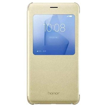 Custodia View Cover per Huawei Honor 8 - Color Oro