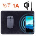HyperGear Qi Wireless Charging Mouse Pad - Black