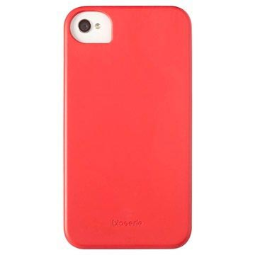 iPhone 4 / 4S Custodia Krusell BioCover - Rossa