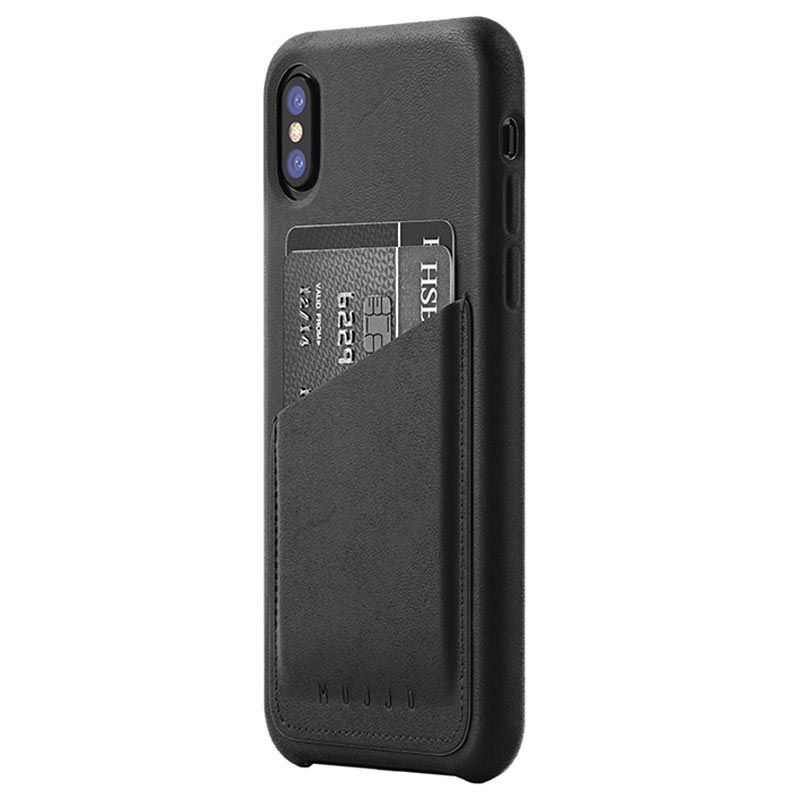 custodia in pelle iphone x
