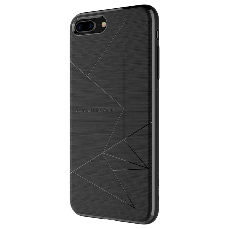 Custodia di Ricarica Wireless per iPhone 8 Plus Nillkin Magic - Nera