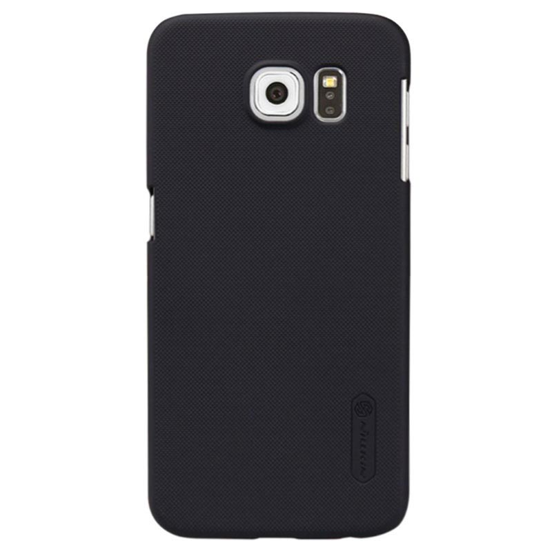Cover Nillkin Super Frosted Shield per Samsung Galaxy S6 - Nera