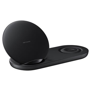 Samsung EP-N6100TBEGWW Wireless Charger Duo - Nero