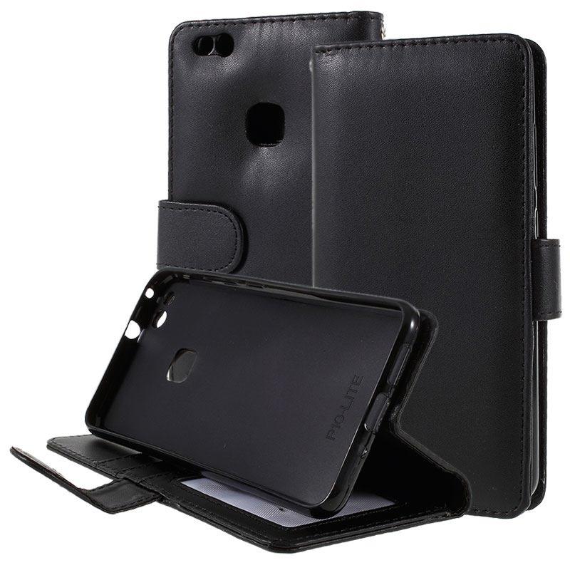 molto carino 9f37c 3106d Custodia Portafoglio per Huawei P10 Lite - Nera