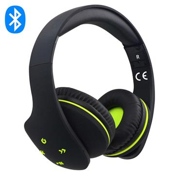 Rebeltec Viral Over-Ear Auricolare Bluetooth - Nero
