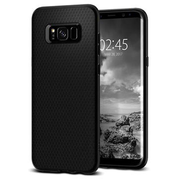 Cover in TPU per Samsung Galaxy S8 Spigen Liquid Air Armor - Nera