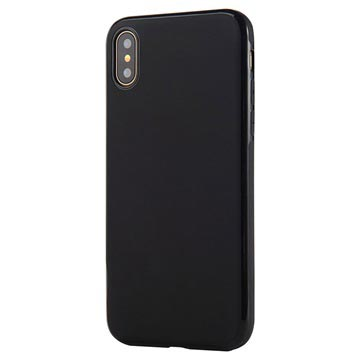 iPhone X / iPhone XS Sulada Slim Magnetic TPU Case - Black