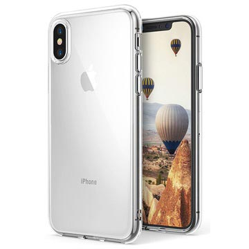 Custodia in silicone Ultra Slim Pro per iPhone X / iPhone XS - Trasparente