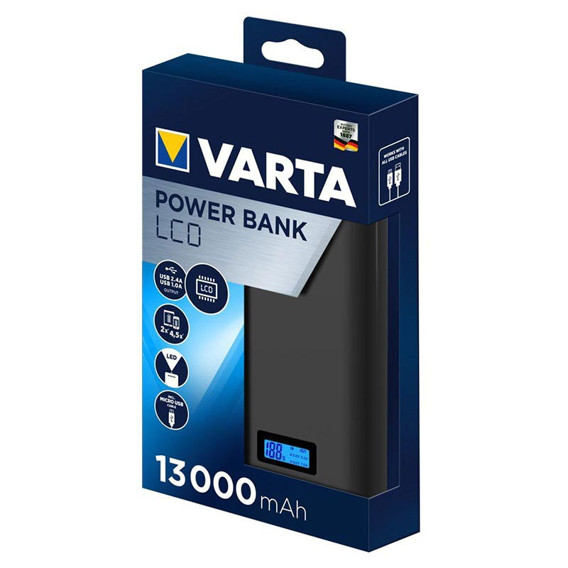 Power Bank LCD Varta 13000mAh