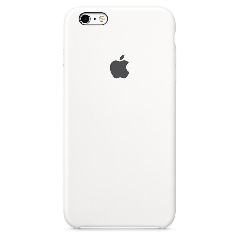 Apple Custodia Cover Originale In Silicone Per Iphone 7 / 8 - Bianco