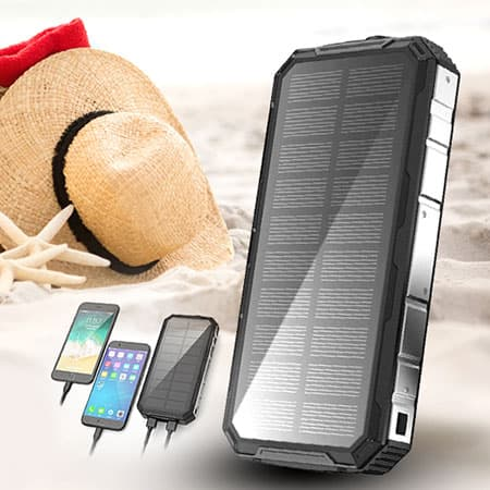Caricabatterie wireless solare